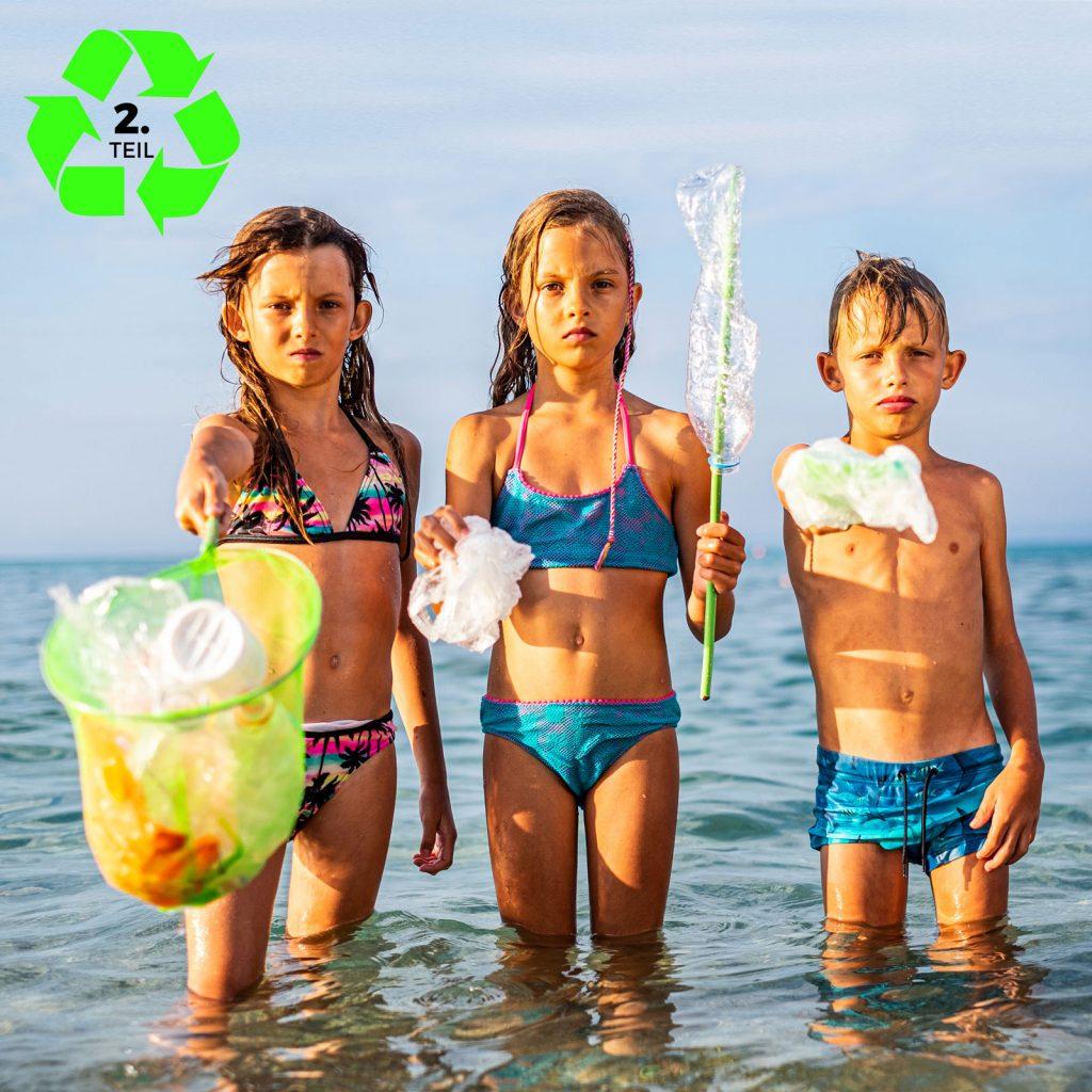Cover zum Green Life Klimaschutz Podcast Problemkind Plastikmüll